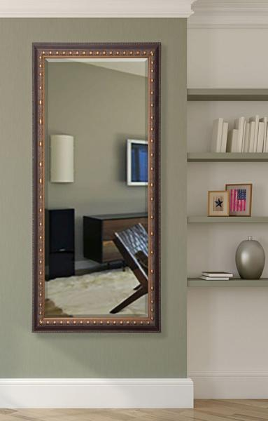Copper Bronze Full Length Beveled Body Mirror   R041XT. Rayne Mirrors Inc    High Quality Mirrors  Wall Mirrors  Floor